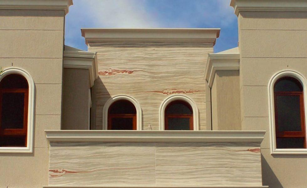 Flexisandstone outdoor application